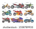 Motorcycle Vector Motorbike...