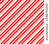 christmas candy cane stripes... | Shutterstock .eps vector #1538794253