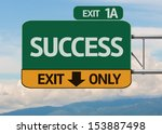 Creative Success Exit Only ...