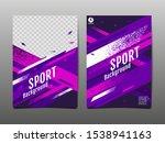 sport layout   template design  ... | Shutterstock .eps vector #1538941163
