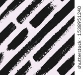 hand drawn monochrome striped... | Shutterstock .eps vector #1538951240