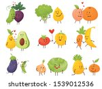 set of different cartoon...   Shutterstock .eps vector #1539012536