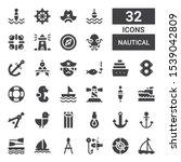 Nautical Icon Set. Collection...