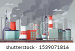 environmental pollution vector... | Shutterstock .eps vector #1539071816