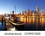 Stock photo vancouver in canada 153907400