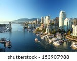 Stock photo vancouver in canada 153907988
