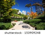 robson square in downtown... | Shutterstock . vector #153909248