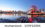 Stock photo vancouver september science world and bc place stadium in vancouver canada on september 153910304