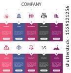 company infographic 10 option...