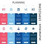 planning infographic 10 option...