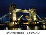 Night Shot Of Tower Bridge...