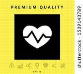 heart medical icon. graphic... | Shutterstock .eps vector #1539143789