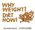 diet message in biscuits  pun... | Shutterstock . vector #153916088