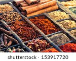 Selection Of Dried Spices...