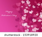 abstract valentine's day... | Shutterstock . vector #153918920