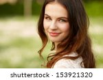 portrait of attractive young... | Shutterstock . vector #153921320