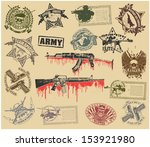 Set Of Stamps Of Military...