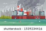 environmental pollution vector...   Shutterstock .eps vector #1539234416