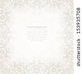 floral white abstract...   Shutterstock .eps vector #153935708