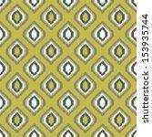 ikat retro seamless pattern for ... | Shutterstock .eps vector #153935744