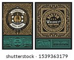 western label  packing for... | Shutterstock .eps vector #1539363179