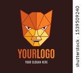 super hero head or mask low... | Shutterstock .eps vector #1539509240