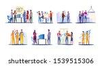 real estate development set....   Shutterstock .eps vector #1539515306