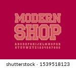 vector logo modern shop with...   Shutterstock .eps vector #1539518123