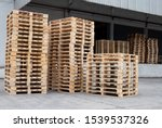 Stack Wooden Pallets For...