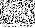 geometric abstract background ... | Shutterstock .eps vector #1539559133