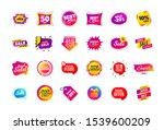 sale banner badge. special... | Shutterstock .eps vector #1539600209