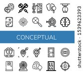set of conceptual icons. such...   Shutterstock .eps vector #1539623393
