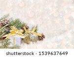 christmas and new year... | Shutterstock . vector #1539637649