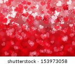 abstract valentine's day... | Shutterstock . vector #153973058