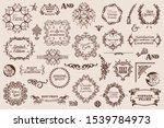 vector decorative elements for... | Shutterstock .eps vector #1539784973