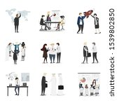 business illustrations for web... | Shutterstock . vector #1539802850