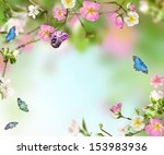 Background Nature From Fllower...