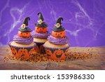 Halloween Cupcake With Pumpkin...
