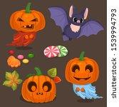 set of vector illustration of...   Shutterstock .eps vector #1539994793