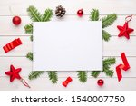 empty paper for greeting text... | Shutterstock . vector #1540007750