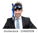 Businessman Wearing Suit And...