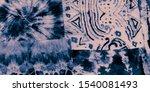 tie dye colors. old dirty art... | Shutterstock . vector #1540081493