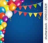 Color Glossy Happy Birthday...