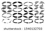 set of ovql frames. collection... | Shutterstock .eps vector #1540132703