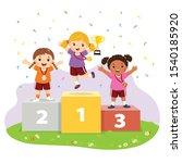 vector illustration of three... | Shutterstock .eps vector #1540185920