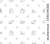 wildlife icons pattern seamless ... | Shutterstock .eps vector #1540190306