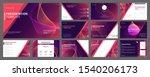 business presentation templates ...   Shutterstock .eps vector #1540206173