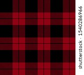 Red Plaid Pattern Vector...