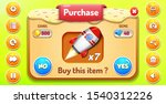 buy purchase  menu pop up with...