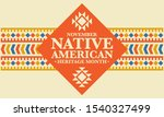Native American Heritage Month...